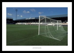 Derby County Baseball Ground Old Stadium Photo Memorabilia