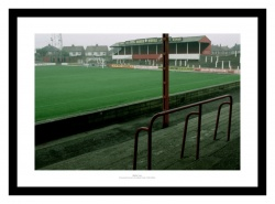 Doncaster Rovers Belle Vue Historic Old Stadium Photo