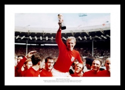 England 1966 World Cup Final Team Photo Memorabilia