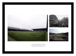 Craven Cottage Stadium through the Ages Photo Memorabilia