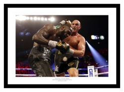 Tyson Fury v Deontay Wilder 2 Boxing Photo