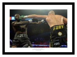 Fury v Wilder 2 Boxing Photo