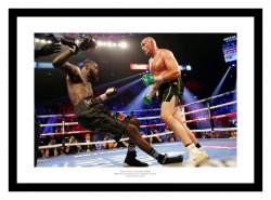 Tyson Fury v Deontay Wilder 2 Boxing Picture