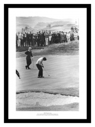 Jack Nicklaus & Tony Jacklin 1969 Ryder Cup Golf Photo Memorabilia