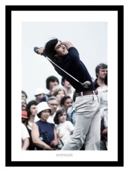 Seve Ballesteros 1976 British Open Golf Photo Memorabilia