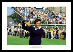 Seve Ballesteros 1984 Open Championship Golf Photo Memorabilia