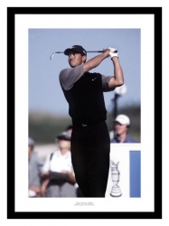 Tiger Woods 2000 British Open Golf Photo Memorabilia