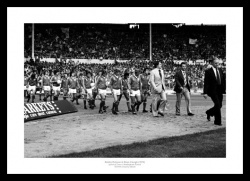 Bobby Robson & Brian Clough 1978 Photo Memorabilia