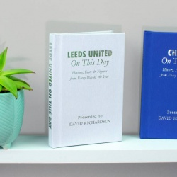 Personalised Leeds 'On This Day' Book