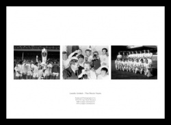 Leed United The Don Revie Years Print Photo Memorabilia