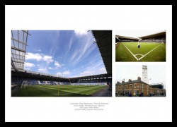 Leicester City Stadiums Past & Present Photo Memorabilia