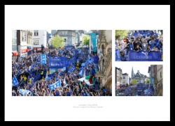 Leicester City 2016 Premier League Champions Parade Photo Memorabilia