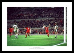 Liverpool FC 1977 European Cup Final Goal Photo