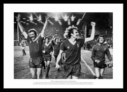 Liverpool 1979 League Champions Team Photo Memorabilia