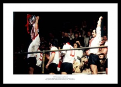 Liverpool 1981 League Cup Final Photo Memorabilia