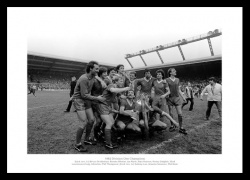 Liverpool FC 1982 League Champions Team Photo