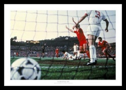 Liverpool FC 1984 European Cup Final Goal Photo Memorabilia