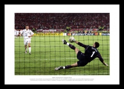 Liverpool 2005 Champions League Dudeks Penatly Save Photo Memorabilia