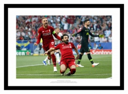 Liverpool FC 2019 Champions League Final Mo Salah Photo Memorabilia