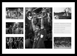 Liverpool FC Champions of Europe 1977-2005 Photo Memorabilia