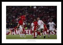 Steven Gerrard Liverpool 2005 Champions League Final Photo Memorabilia