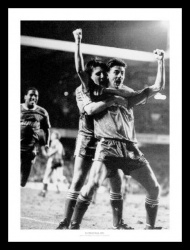 Liverpool FC Ian Rush & Peter Beardsley Photo Memorabilia