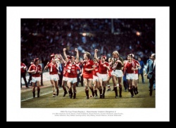 Manchester United 1983 FA Cup Final Team Photo Memorabilia
