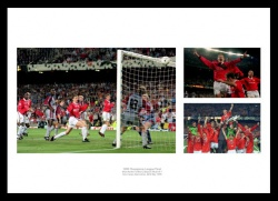 Manchester United 1999 Champions League Photo Memorabilia