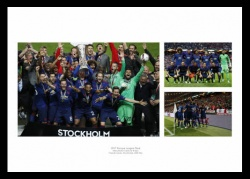 Manchester United 2017 Europa League Final Photo Montage
