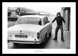 George Best Outside Old Trafford 1972 Photo Memorabilia