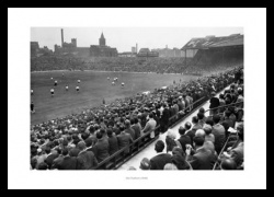 Manchester United Old Trafford Stadium 1949 Historic Photo Memorabilia