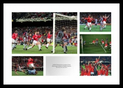 Manchester United 1999 Champions League Final Photo Montage