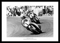 Mike Hailwood Memorabilia - Motorcycle Legends 1967 Photo