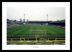 Millwall FC Inside the Old Den Stadium Photo Memorabilia