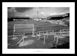 Millwall FC The Old Den Stadium 1988 Historic Photo Memorabilia