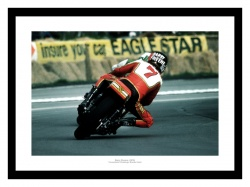 Barry Sheene Brands Hatch 1976 Motorcycle Photo Memorabilia