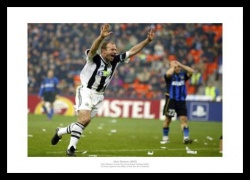 Alan Shearer Newcastle United v Inter Milan 2003 Photo Memorabilia