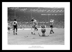 Norwich City 1985 League Cup Final Celebrations Photo Memorabilia