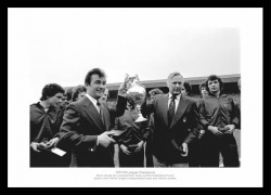 Nottingham Forest 1978 Champions Clough & Taylor Photo Memorabilia