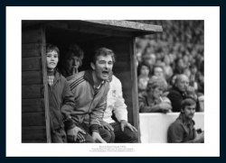 Nottingham Forest Brian Clough & Nigel Clough 1976 Photo Memorabilia
