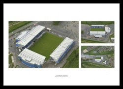 Oxford United Stadium Aerial Photo Memorabilia