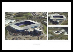 Reading FC Madejski Stadium Aerial Photo Memorabilia