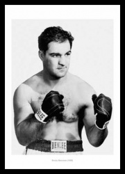 Rocky Marciano 1955 Boxing Legends Photo Memorabilia