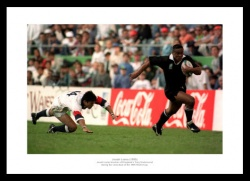 Jonah Lomu Memorabilia - 1995 New Zealand Rugby World Cup Photo