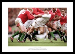 Lawrence Dallaglio England Rugby Legend Photo