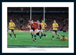 Jamie Roberts British & Irish Lions Australia 2013 Tour Photo