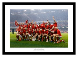 Wales Rugby Team 2019 Six Nations Grand Slam Photo Memorabilia