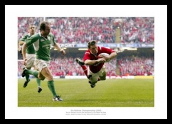 Wales Rugby 2005 Grand Slam Photo Memorabilia