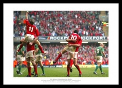 Wales Rugby 2005 Grand Slam Celebrations Photo Memorabilia