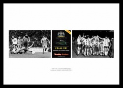 Tottenham Hotpsur 1981 FA Cup Final Photo Memorabilia